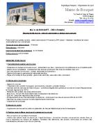 Bouquet – offre d'emploi secrétaire de mairie